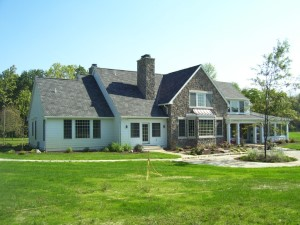 A variety of traditional estate construction projects